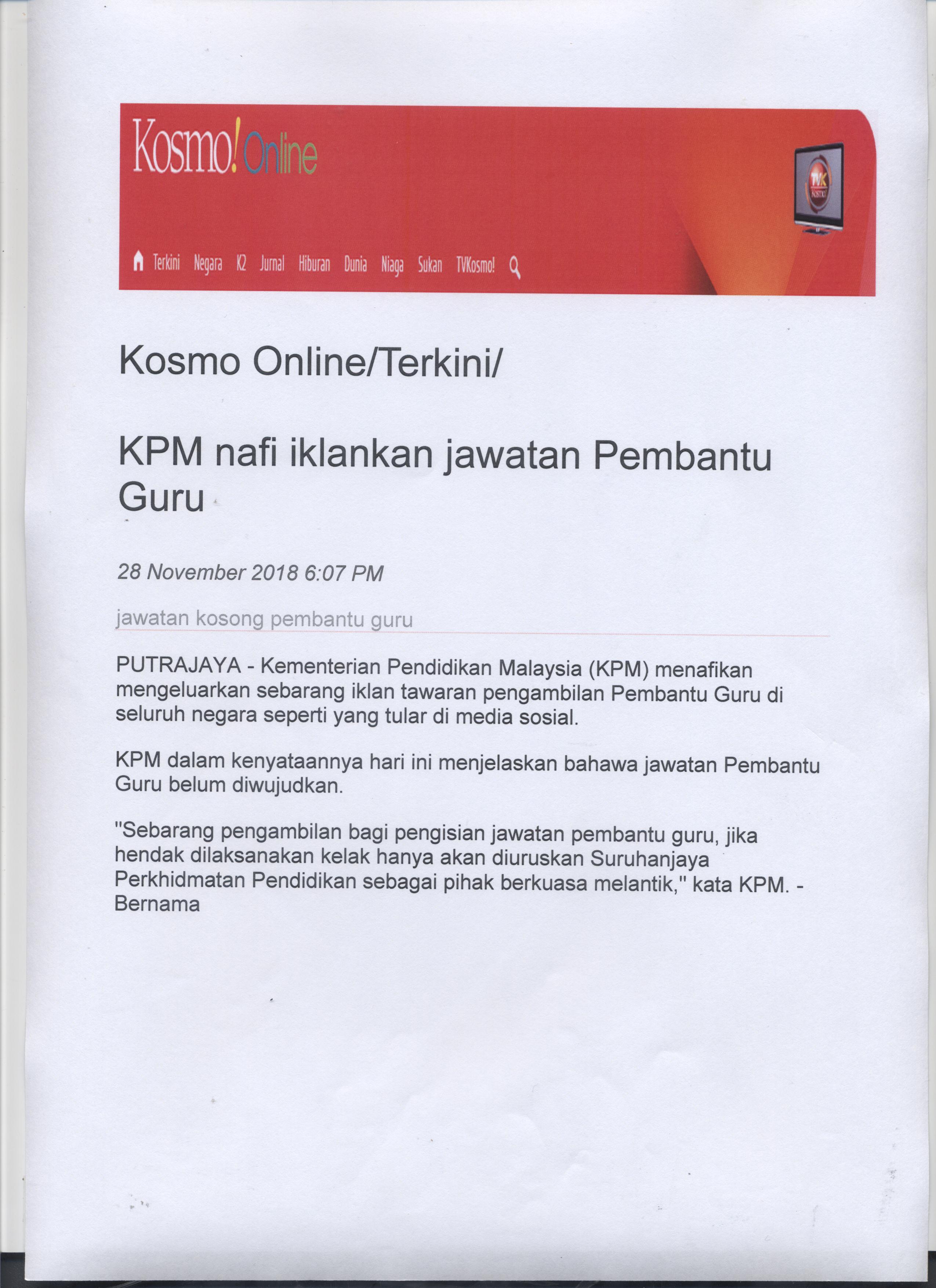 www kosmo online